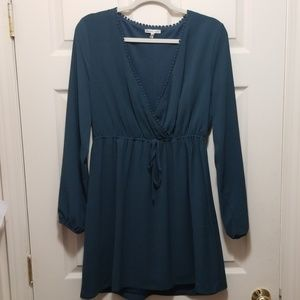 Turquoise Charlotte Russe dress size L